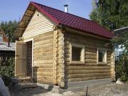 Строительство  качественной бани из блока,  сруба и бруса